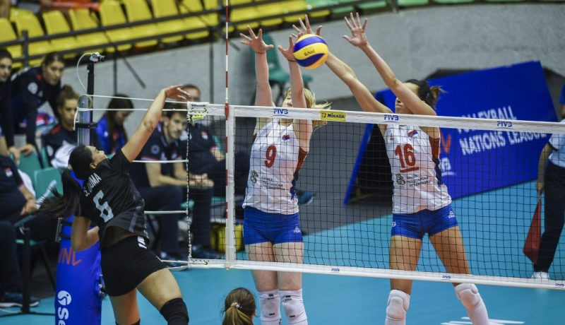 Serbia's Women National Team wins Macao pool of Volleyball Nations League