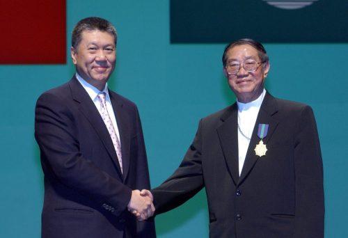 2003- Golden Lotus Medal Domingos Lam