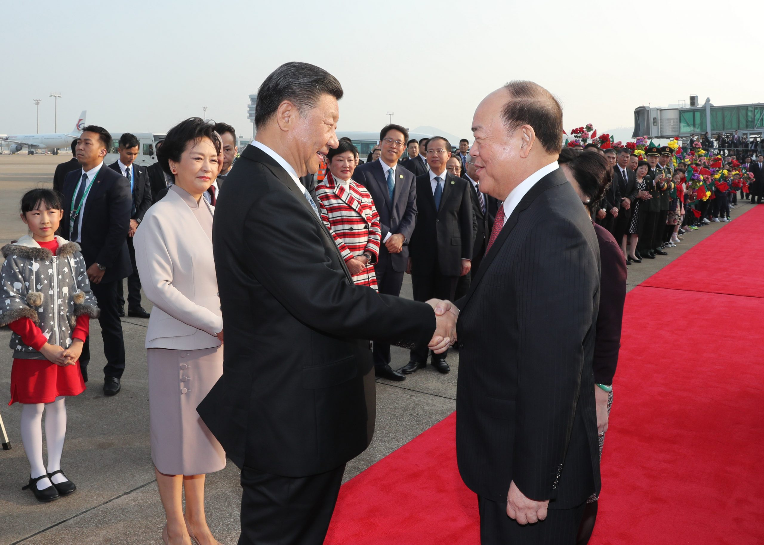 CHINA-MACAO-XI JINPING-SEEING-OFF CEREMONY(CN)