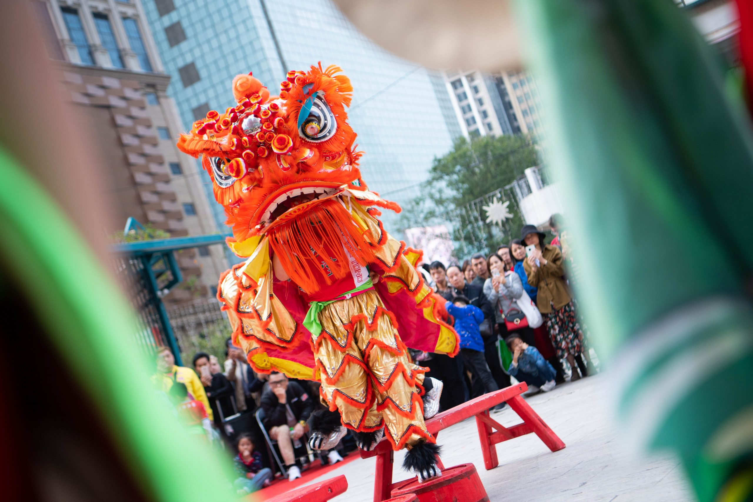CHINA-MACAO-DRAGON & LION DANCE-EVENT (CN)