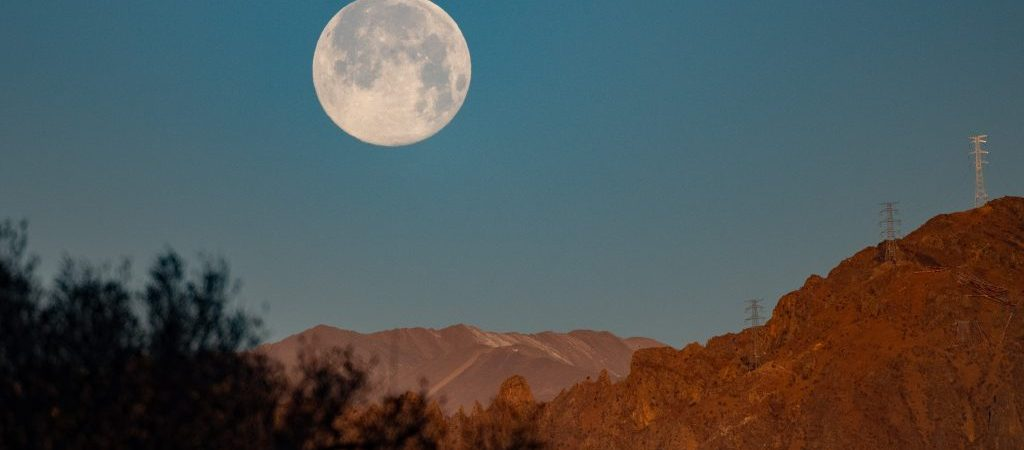 CHINA-TIBET-SUPER MOON (CN)