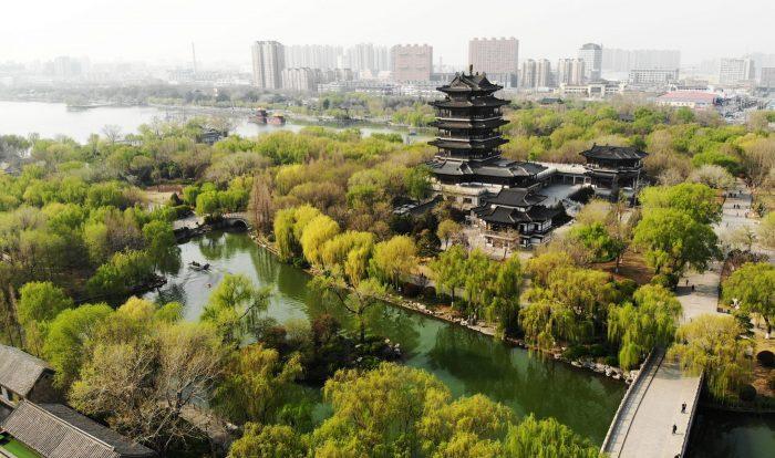 CHINA-JINAN-DAMING LAKE-SPRING (CN)