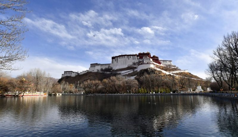 CHINA-TIBET-LHASA-SPRING SCENERY (CN)