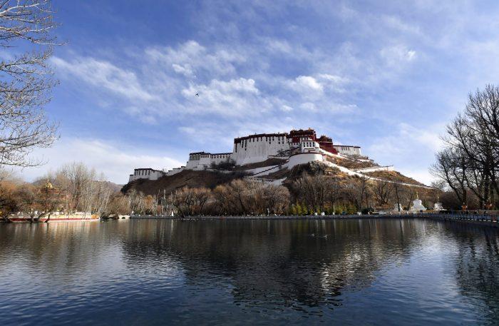 CHINA-TIBET-LHASA-SPRING SCENERY (CN)
