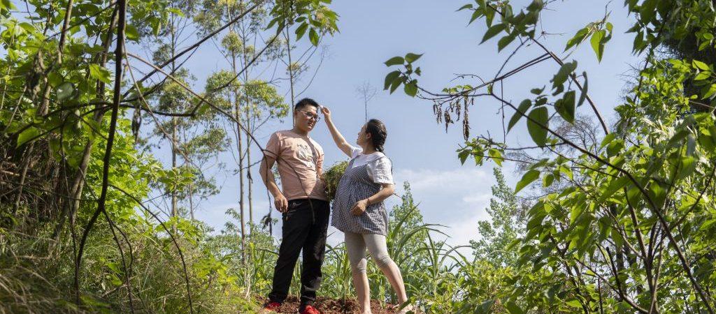 CHINA-SICHUAN-CHENGDU-SHORT VIDEO CREATOR-COUPLE (CN)