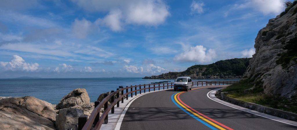 CHINA-ZHEJIANG-WENZHOU-NANJI ISLANDS-DRIVE WAY (CN)