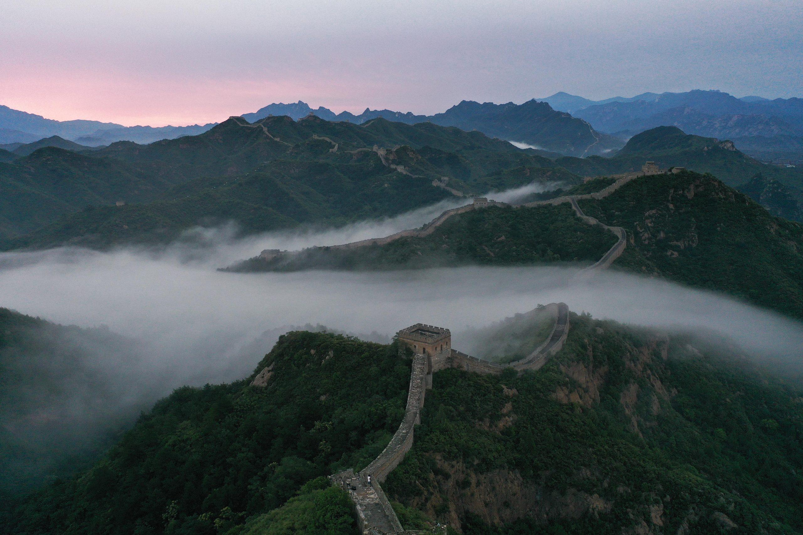 #CHINA-HEBEI-CHENGDE-JINSHANLING GREAT WALL (CN)