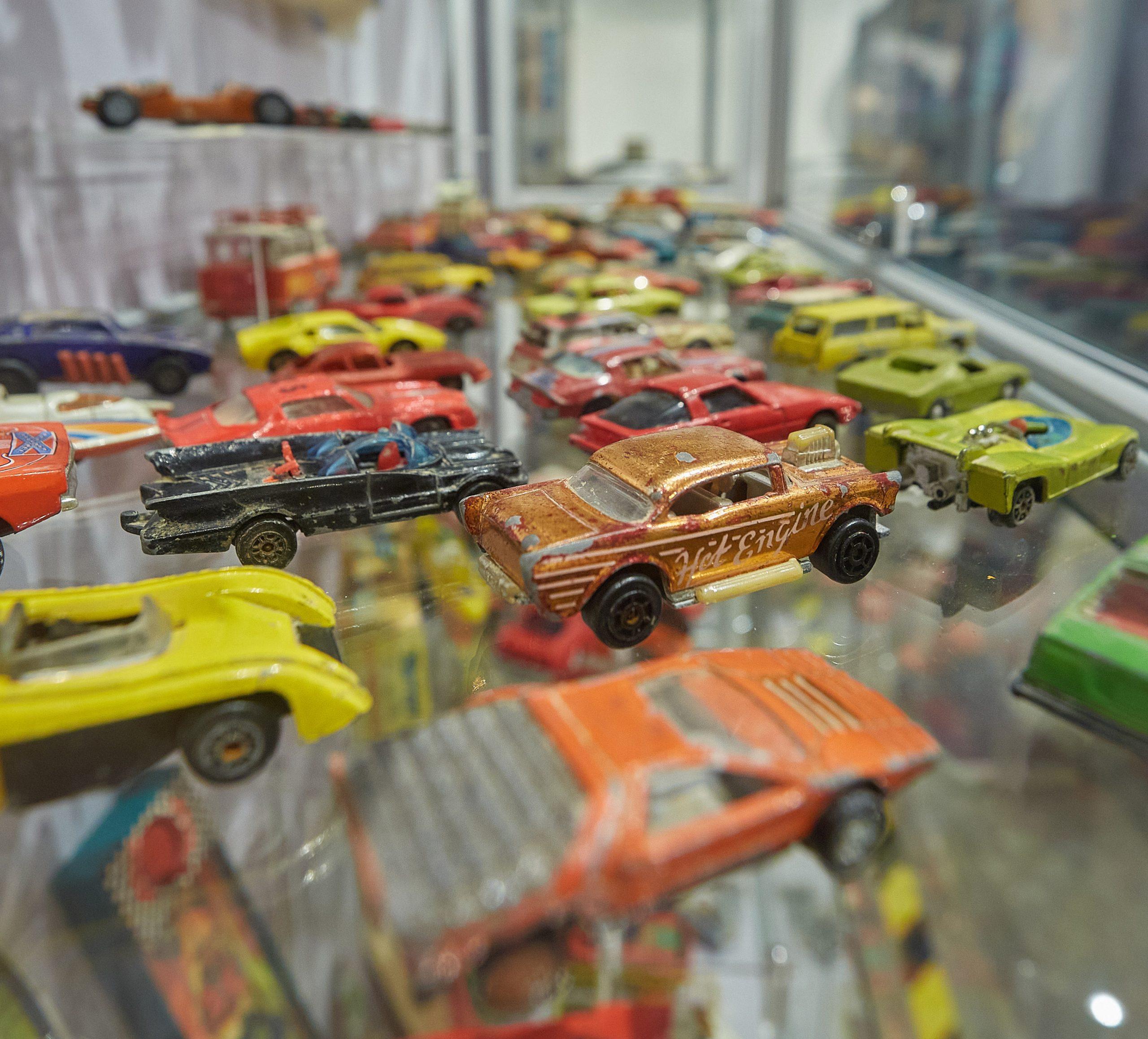 Dinky race cars