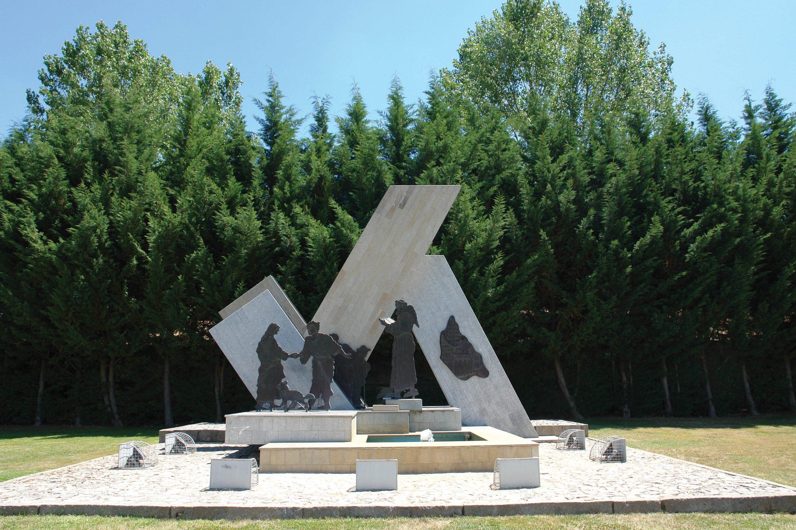 Monument to João Rodrigues in Sernancelhe