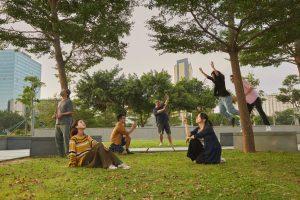 Representatives of local theatre companies create a scene in our grand photo shoot