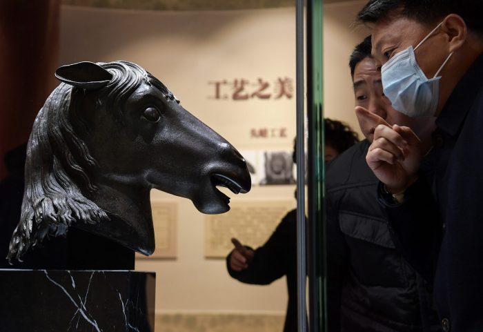 CHINA-BEIJING-YUANMINGYUAN-LOOTED CULTURAL RELIC-RETURN (CN)
