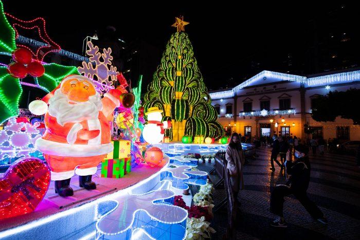 CHINA-MACAO-CHRISTMAS DECORATIONS (CN)