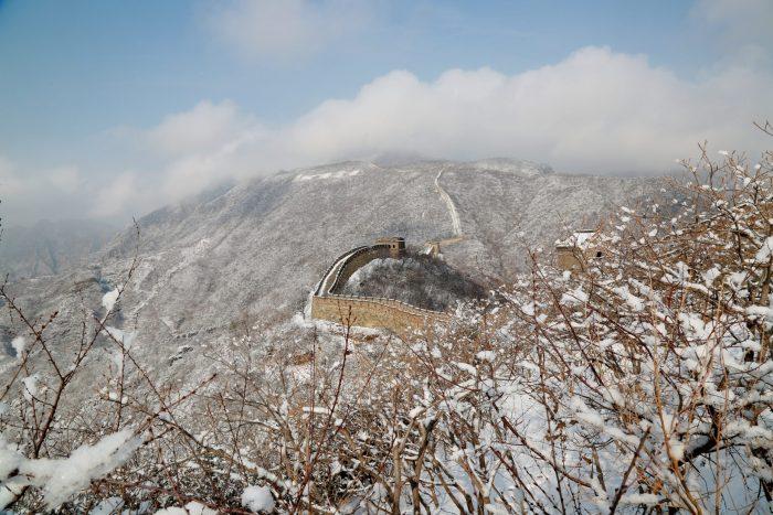 #CHINA-BEIJING-GREAT WALL-SNOW SCENERY (CN)