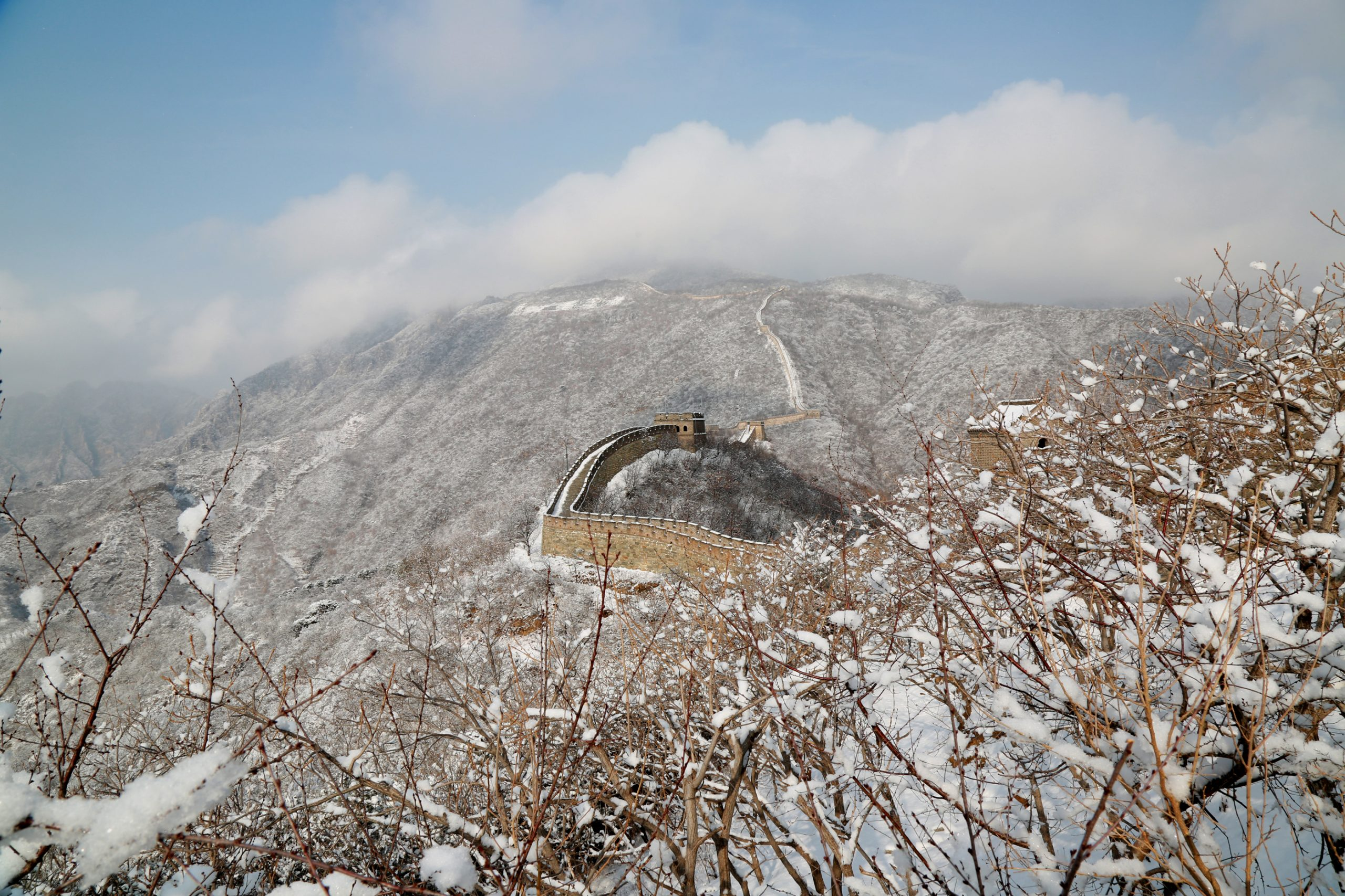 #CHINA-BEIJING-GREAT WALL-SNOW SCENERY (CN)