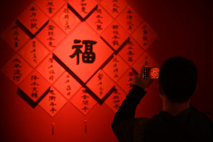CHINA-BEIJING-EXHIBITION-YEAR OF OX (CN)