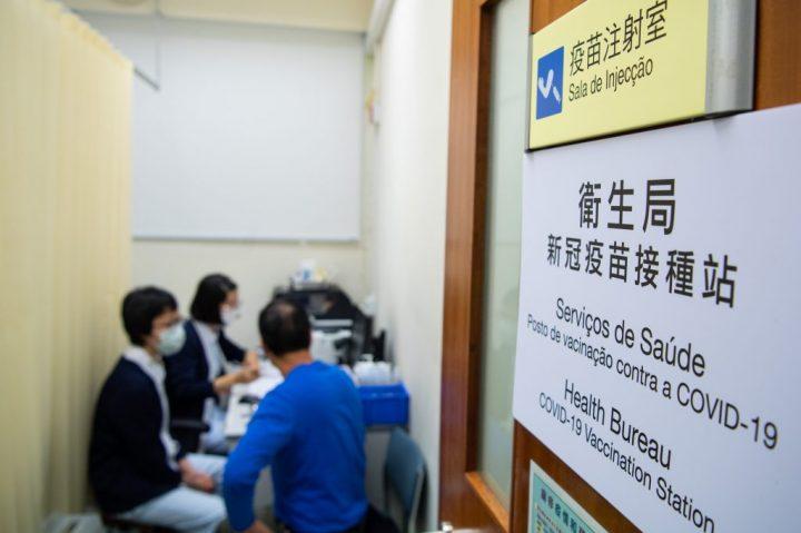 CHINA-MACAO-VACCINATION (CN)