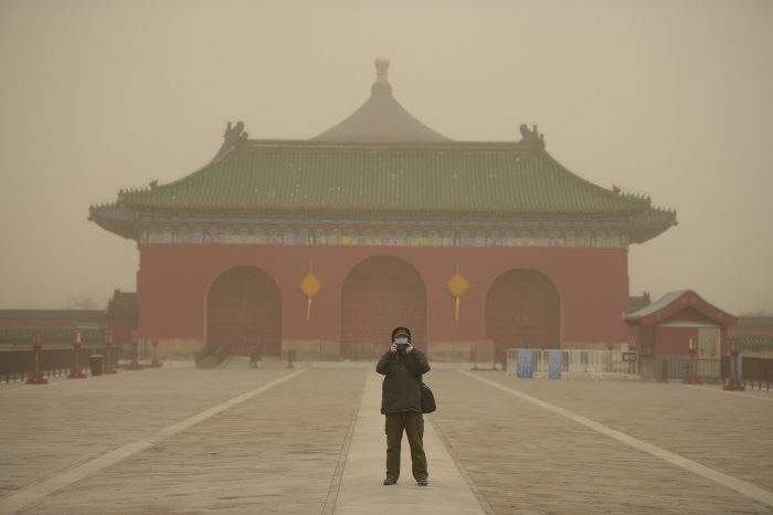 CHINA-BEIJING-WEATHER-DUST (CN)