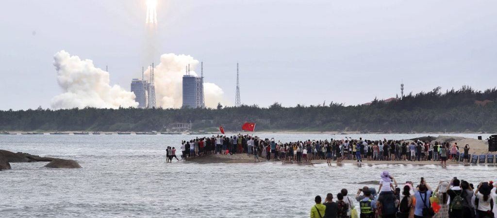 (EyesonSci)CHINA-HAINAN-WENCHANG-SPACE STATION-CORE MODULE-LAUNCH (CN)