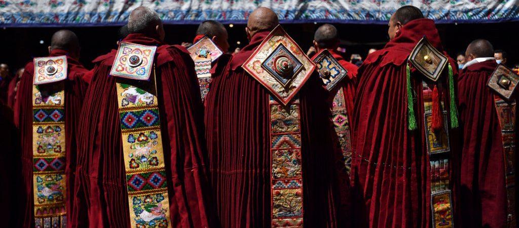 (InTibet)CHINA-TIBET-LHASA-GESHE LHARAMPA-AWARD CEREMONY (CN)