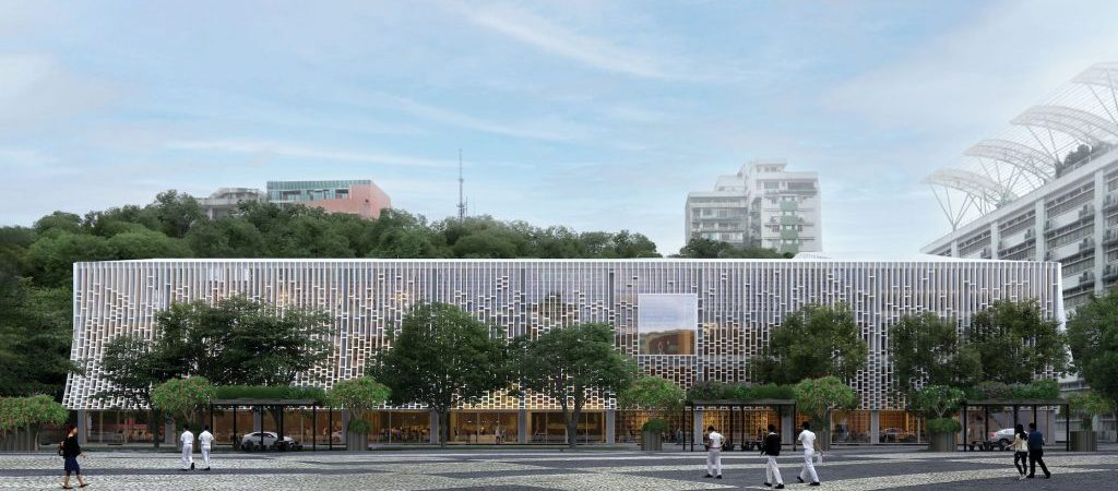 Central Library artist rendering