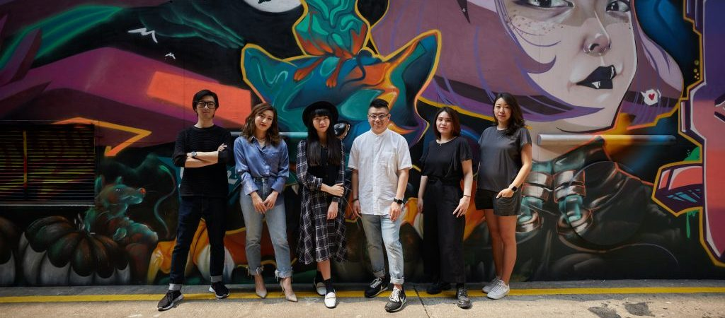 Raymond Nogueira, Vivian Lu, Tramy Lui, Au Chon Hin, Widy Leong, Josephine Lam (from left)