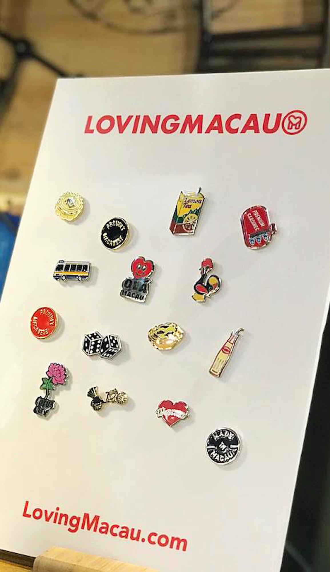 Macao-inspired magnets by Loving Macau