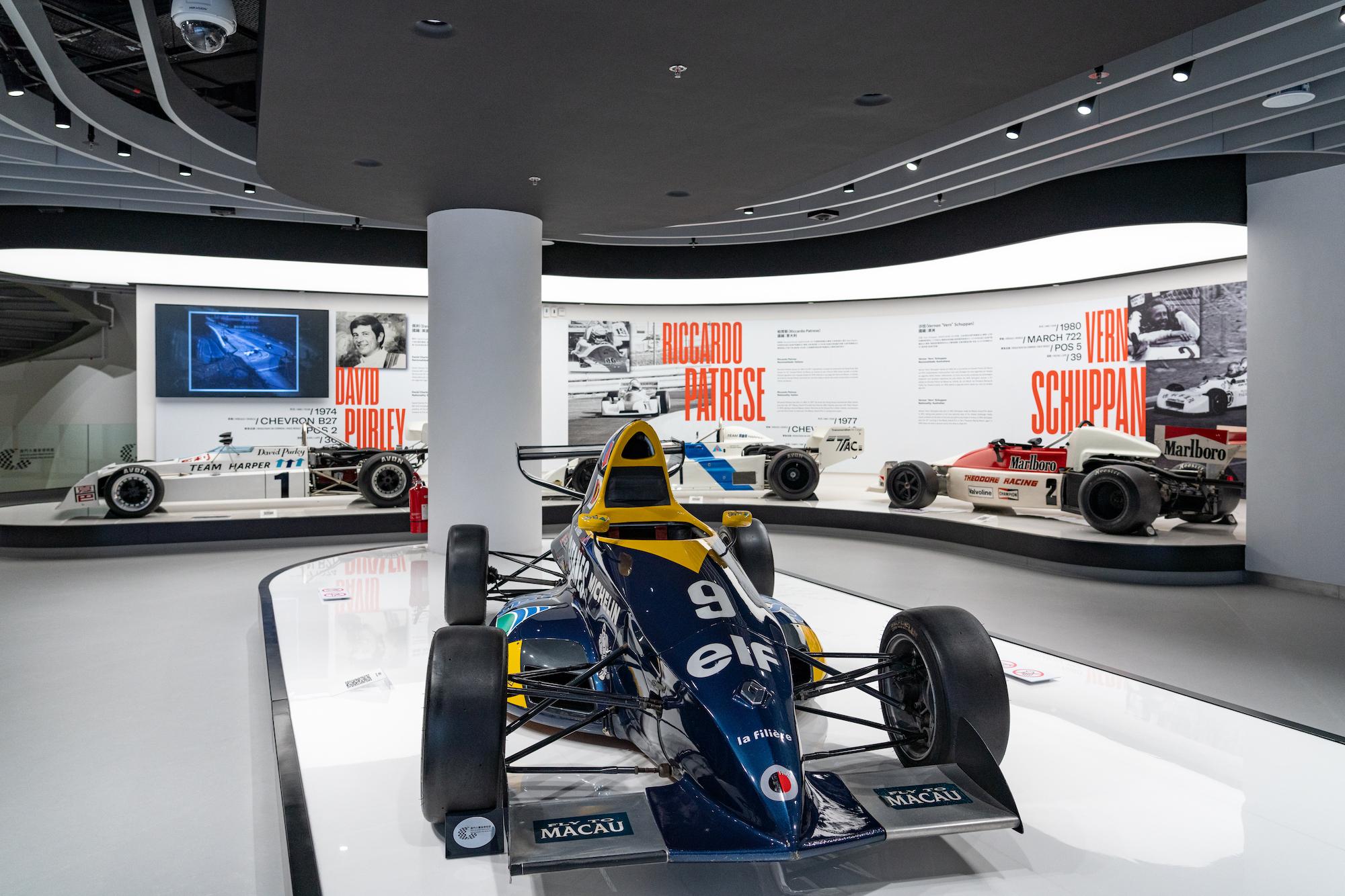 Formula cars of David Purley, Riccardo Paterse and Vern Schuppan