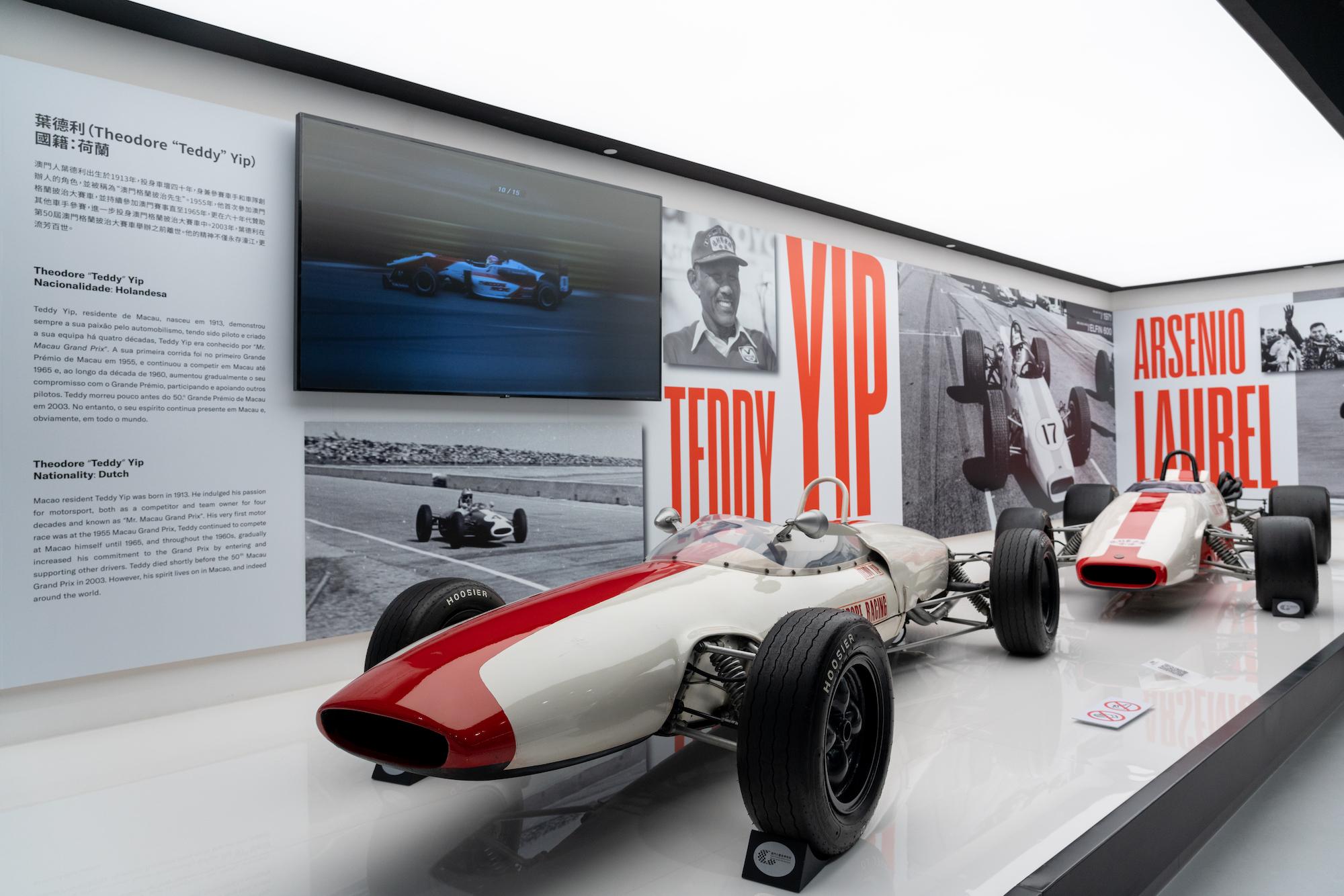 Teddy Yip's Theodore Racing Formula 1 race car