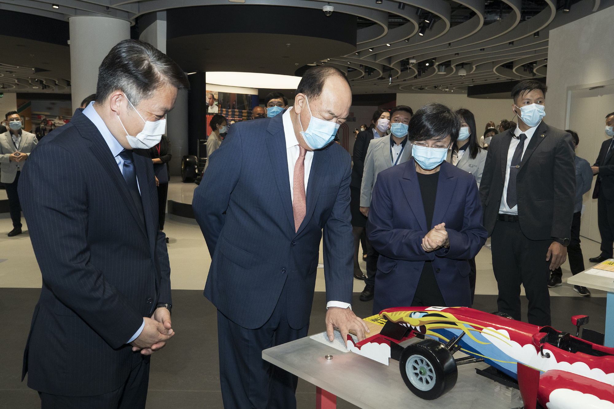 Chief Executive Ho Iat Seng officially inaugurated the Macao Grand Prix Museum on 1st June