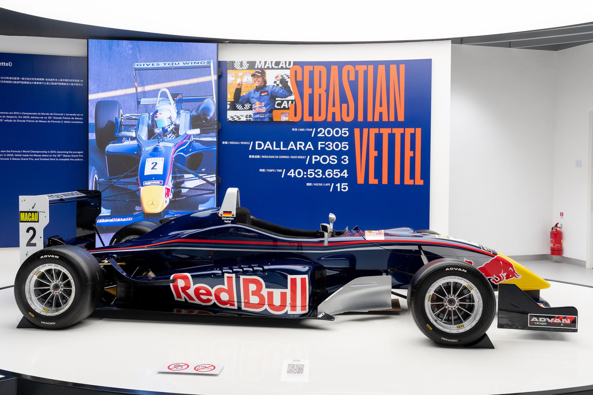 Sebastian Vetttel's Dallara F305