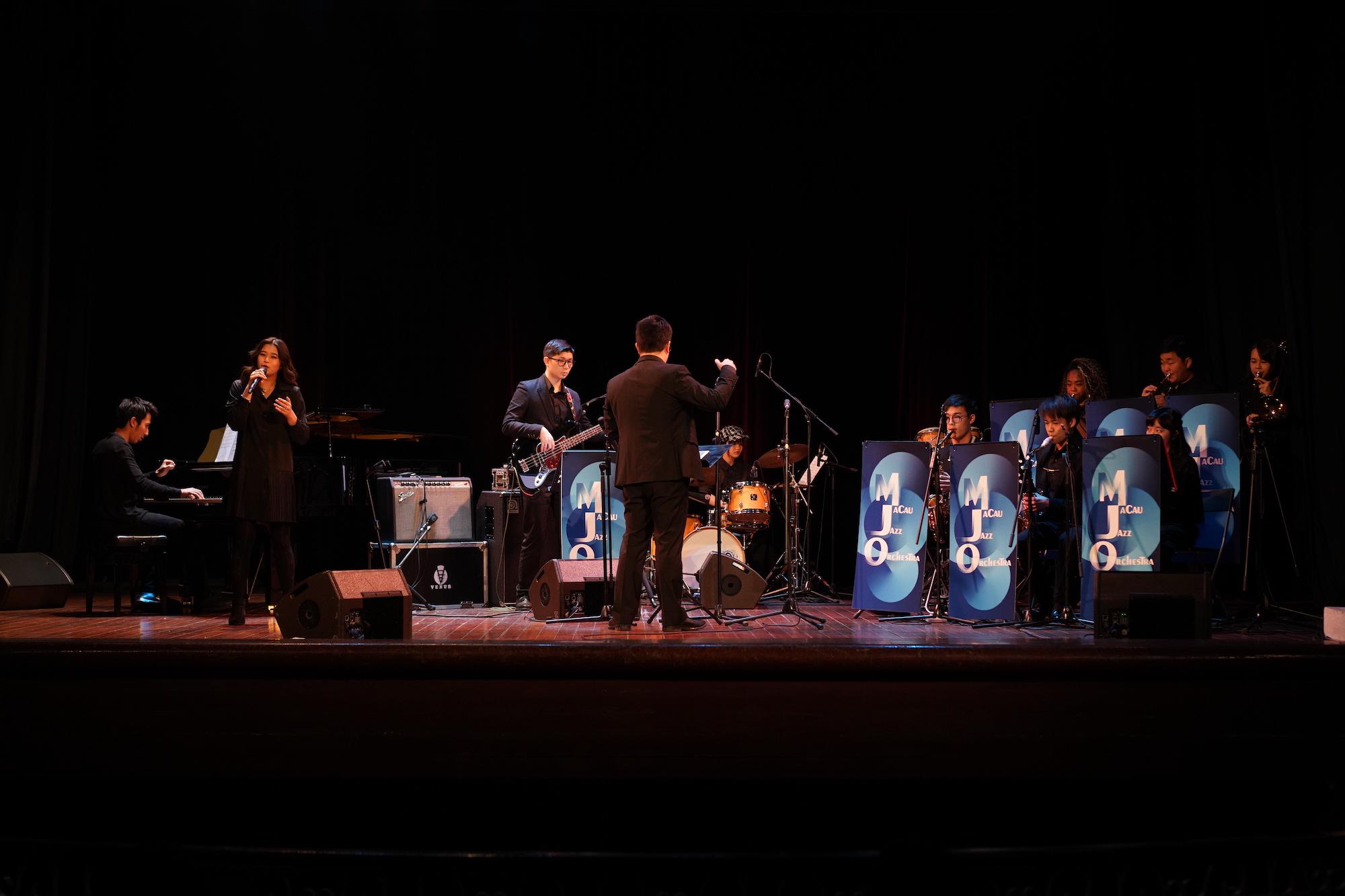 Senior Group of Macau Youth Jazz Orchestra