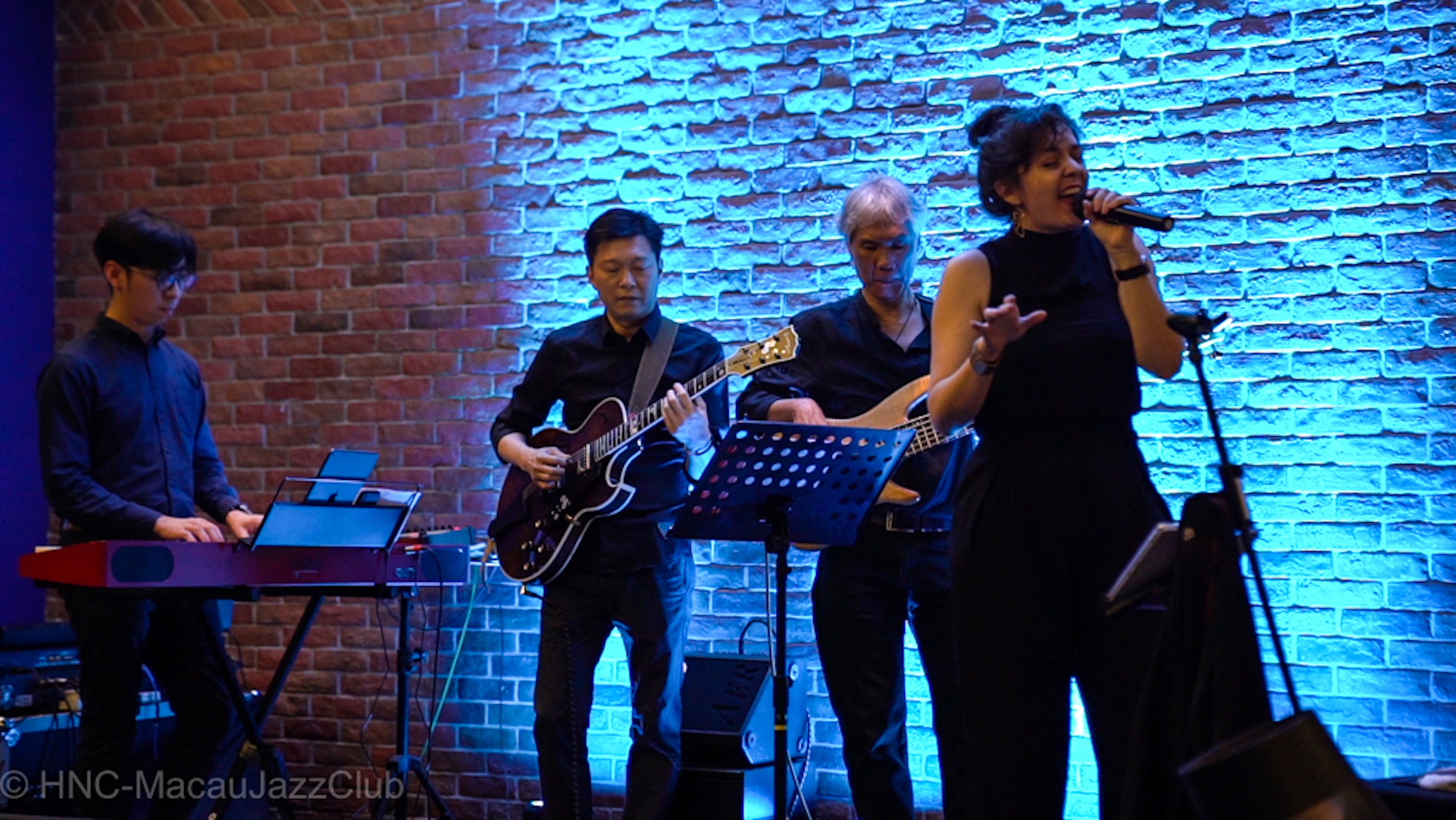 Jazz performance with Groove Ensemble II