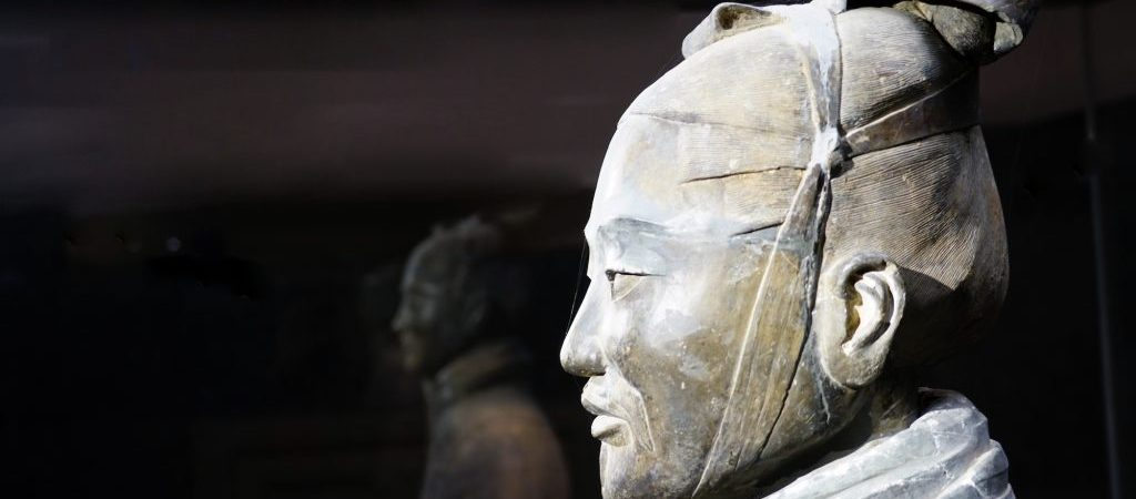 Close-up of a Terracotta Warrior