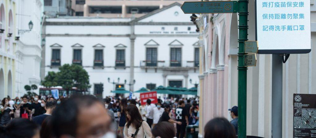 CHINA-MACAO-TOURISM-MAY DAY HOLIDAY(CN)